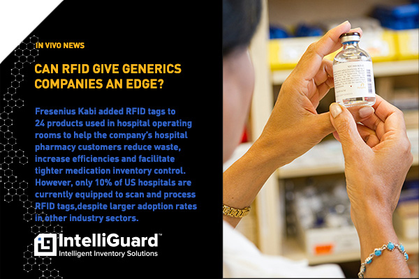 Can RFID Give Generics Companies An Edge? - News item image