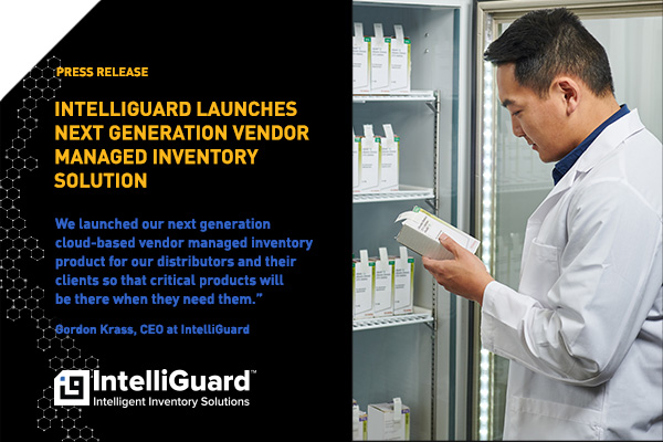 IntelliGuard Launches Next Generation Vendor Managed Inventory Solution - Press Release Image