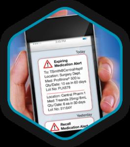 VMI smart cabinet- monitoring -inset image