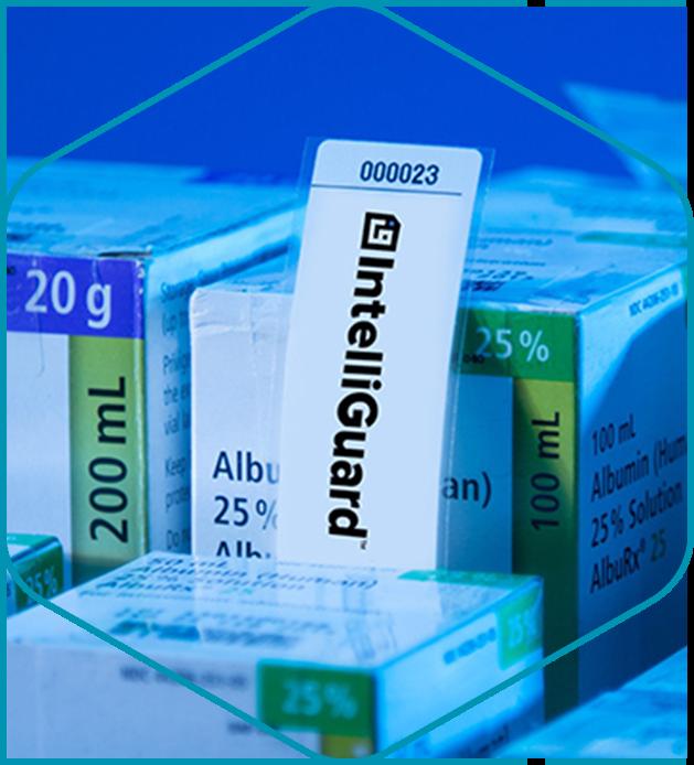 RFID Tagging My Items - image - IntelliGuard RFID tag shown on medication